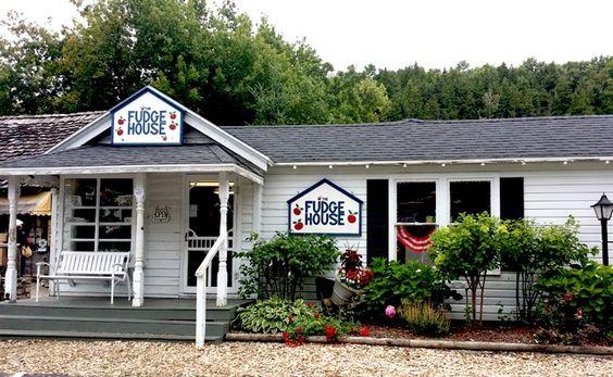 Fudge House Door County, WI - Fish Creek