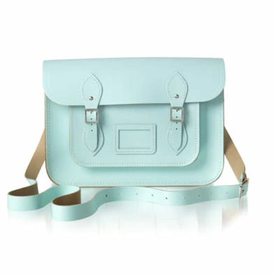 Pastel cambridge satchel