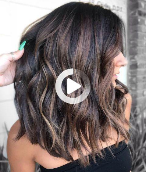 60 Les Plus Benefiques Pour Cheveux Epais Decotes De Longueur Quelconque Idees De Coiffures Couleur Cheveux Tendance Cheveux Epais