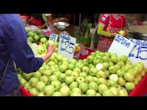 سوق الخضار و الفواكه في تايلاند بنكبي الجزء الاول Watermelon Fruit Life