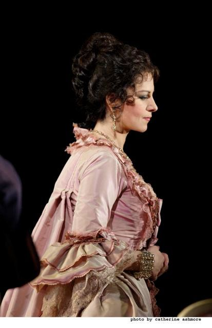 Dress from Adrianna Lecouveur. Angela Gheorghiu