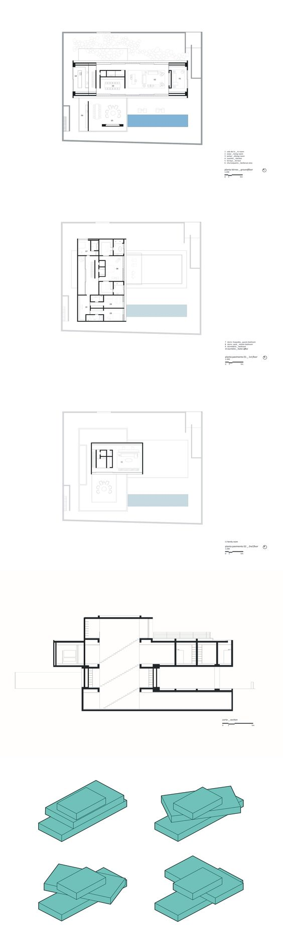 The p house studio mk27 marcio kogan lair reis for Marcio kogan plans