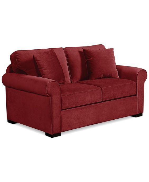 Remo Ii Fabric Apartment Sofa: Custom Colors