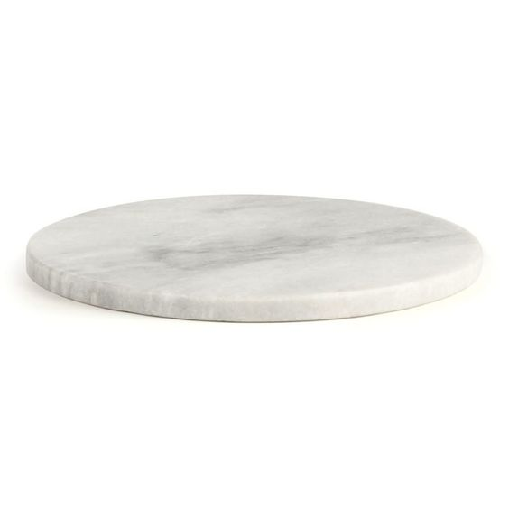 """marble10"""" Mercantile Marble Disply Base - Napa Home and Garden - $40.49 - domino.com"""