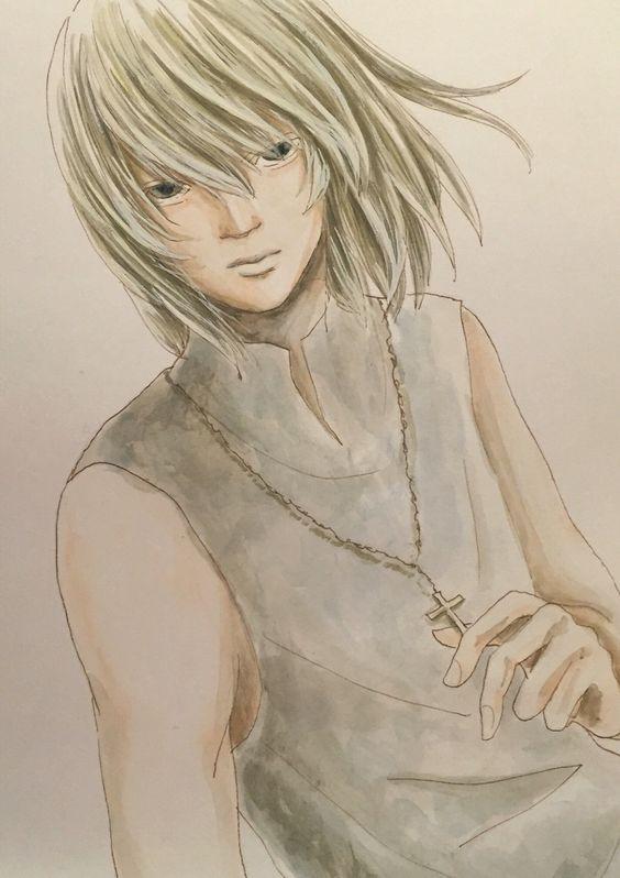 Death Note.   Mello.         http://blogs.yahoo.co.jp/ogino_toratora22_milkyway