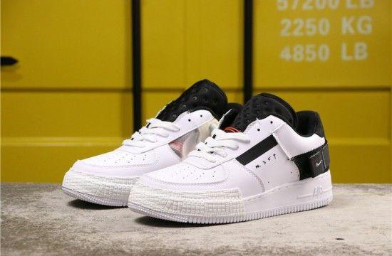 Nike Air Force 1 Low N354 Type White Black AT7859 101
