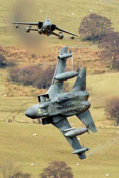 RAF Tornadoes