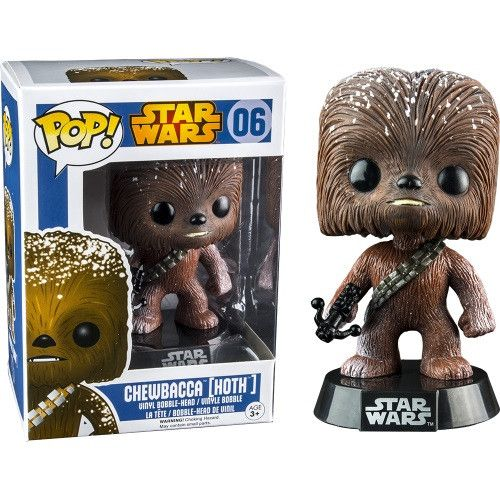 Funko Pop! Star Wars Snow Drift Hoth Chewbacca Exclusive Vinyl Figure: