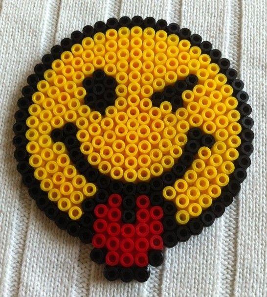 Smiley hama perler by arthystik perle repasser - Smiley perle a repasser ...