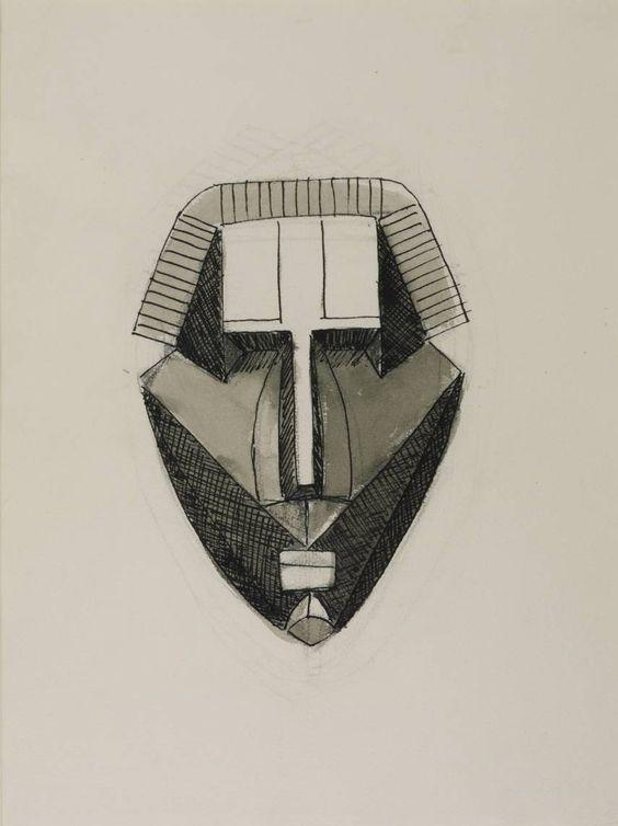 Julio González, 'Stern Mask' 1940