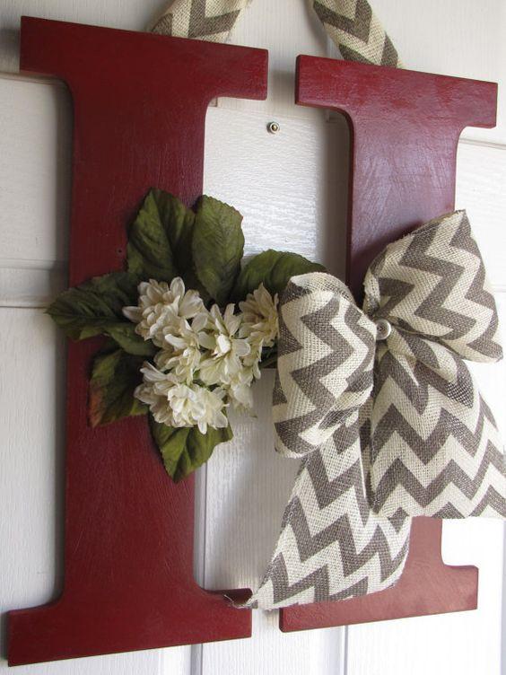 Monogram Door Hanger