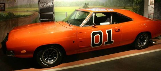 1969 Dodge Charger General Lee Actual TV Car