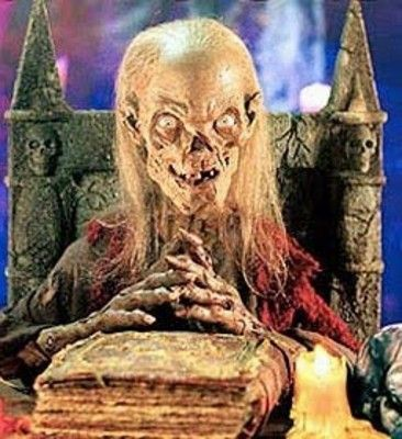 The lovely Crypt Keeper puppet.