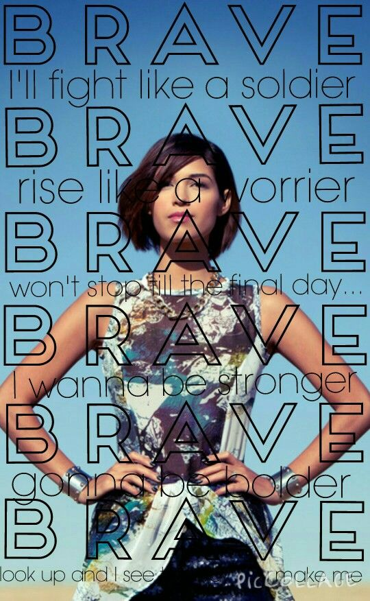 BRAVE - Moriah Peters love this song!!