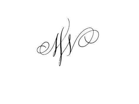 Calligraphie tatouage lettres entrelac es tatouage calligraphie tatouage calligraphi - Modele tatouage lettres entrelacees ...