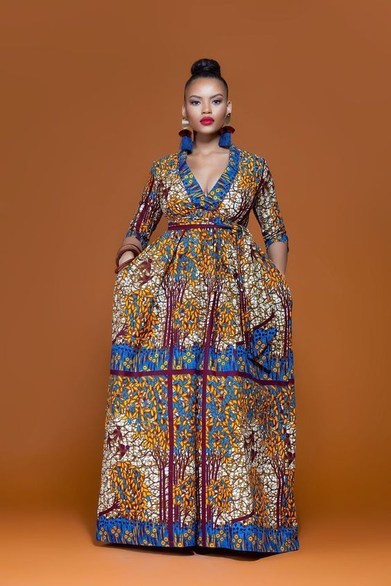 Beautiful Plus Size African Ankara Styles And Attire ...
