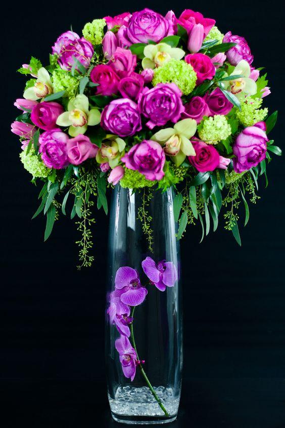 Gardens floral arrangements and facebook on pinterest