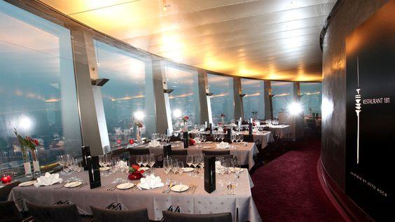 Nice Restaurant im Fernsehturm Restaurants M nchen Pinterest Munich Restaurants and Munich germany
