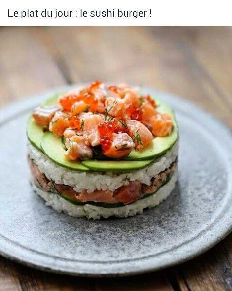 Sushi Burger: