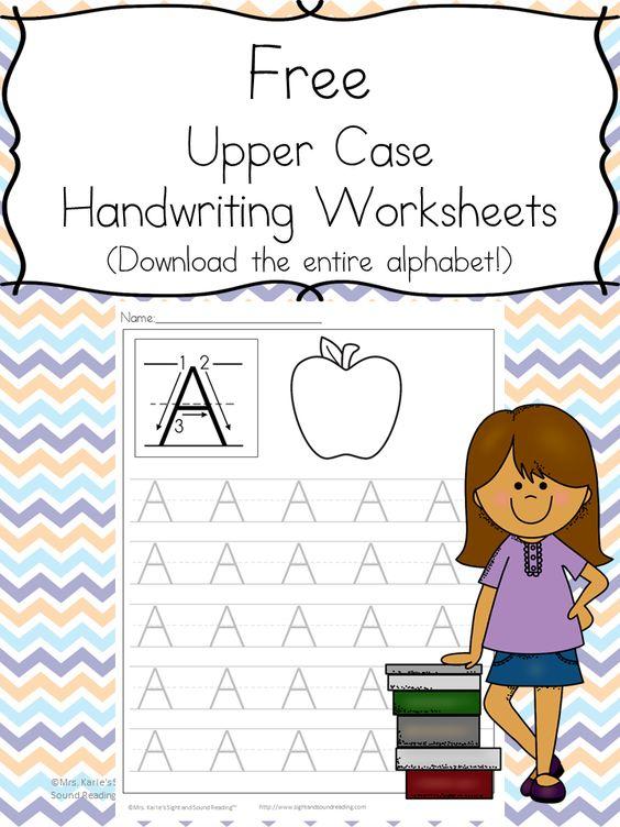 math worksheet : printable handwriting worksheets for kids free download  : Free Download Worksheets For Kindergarten
