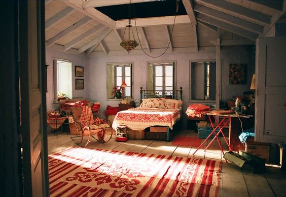 Nick Palmer bedroom