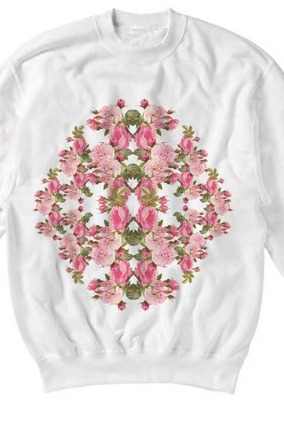 Roses Sweater | Ultra tee and GreenThisSeason.com