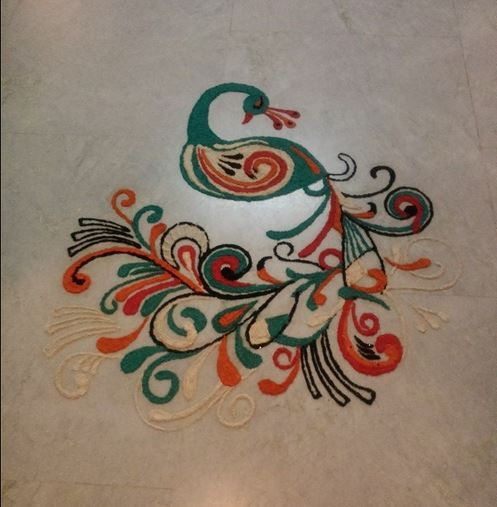 Latest and Easy Rangoli Designs For Diwali
