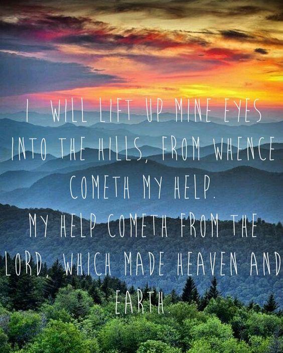 Psalm 121:1-2: