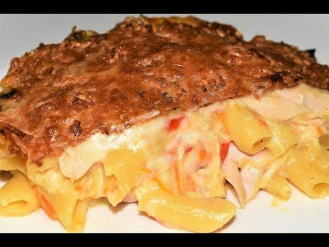 اطيب معكرونة بالدجاج والفطر مع الصلصة البيضاء وصفات رمضان الشيف احمد Youtube Food Fatafeat Pork