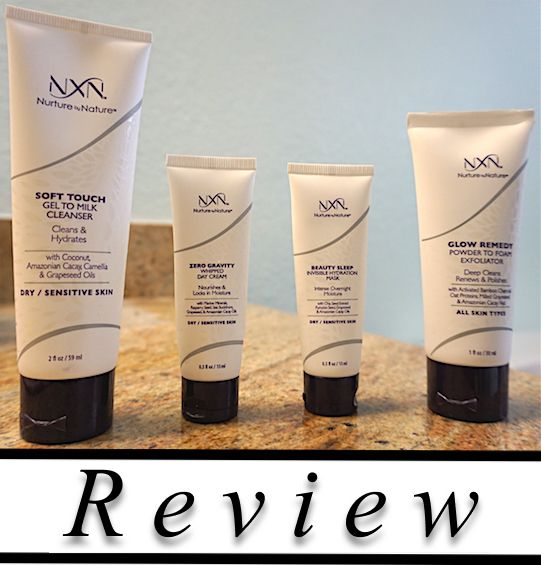 Review Review On The Nxn Nurture By Nature 4 Piece Total Moisture System For Sensitive Dry Skin Totalmois Dry Sensitive Skin Skin Care System Moisturizer
