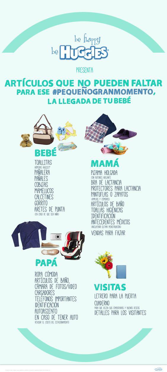 Conoce los artículos que no pueden faltarte al momento de recibir a tu bebé #PequeñosGrandesMomentos