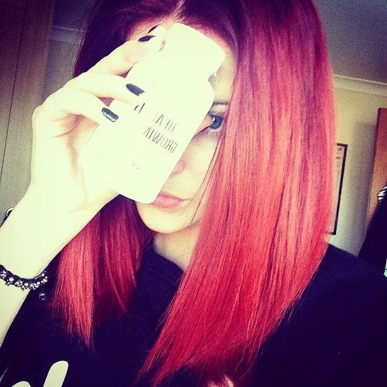 """Follow the fab @vixen on her #HairREV ! Loving the hair :) #hairspiration #hairjourney"""