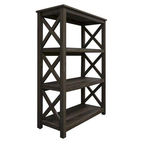 Threshold Open Format 3 Shelf Bookcase Living Room Inspiration