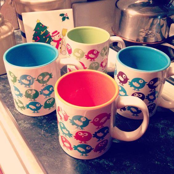 mugs from calobeedoodles.com via Zazzle.