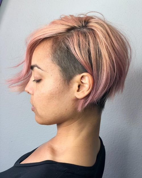 33 Very Edgy Hairstyles To Copy In 2020 Edgy Hair Bobs Haircuts Thick Hair Styles