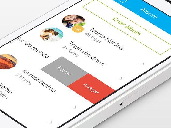 Mobile App Album