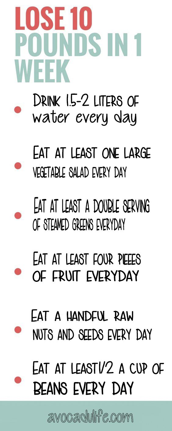 Pin on lose weight in a week