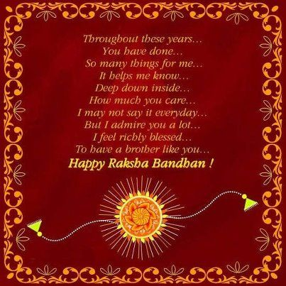 Raksha Bandhan messages and quotes hold their own importance as they convey…