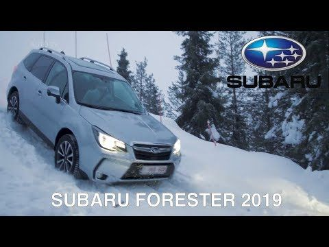 2019 Subaru Forester Snow Test Youtube Subaru Forester Subaru Automotive