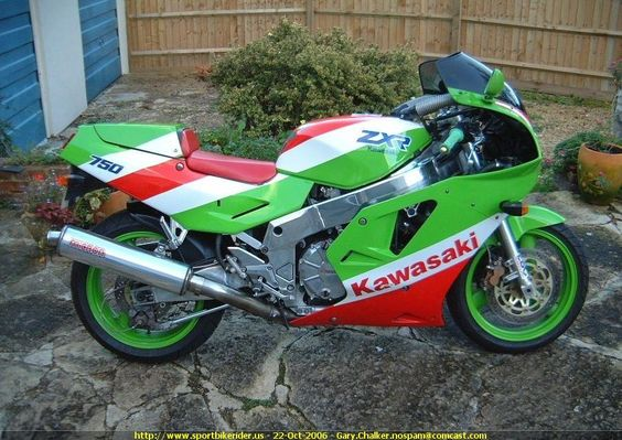 1991 kawasaki zxr 750 zxr stinger pinterest cars fandeluxe Image collections