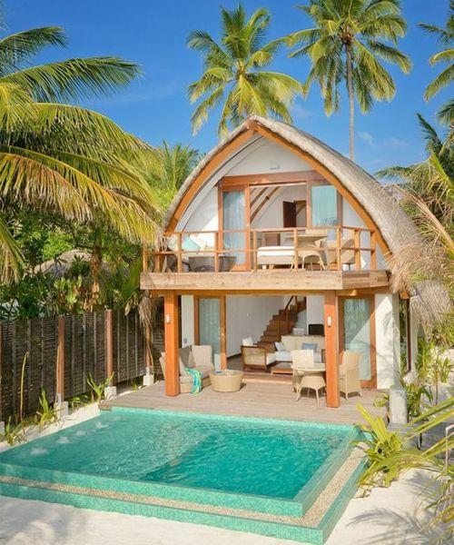 Super Luxury Hut at Resort of Kandolhu Island - Maldives