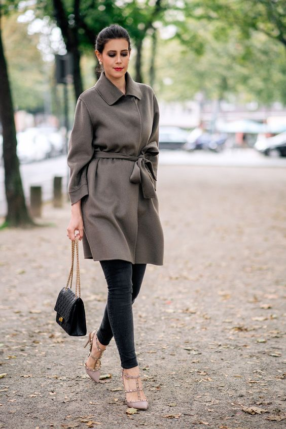 Outfit with Pauw cashmere coat