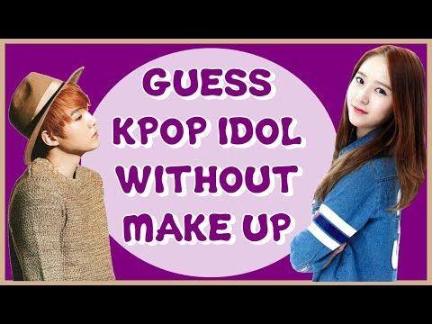 K Pop Games Guess Kpop Idols Without Make Up Youtube Pop Games Kpop Idol Kpop