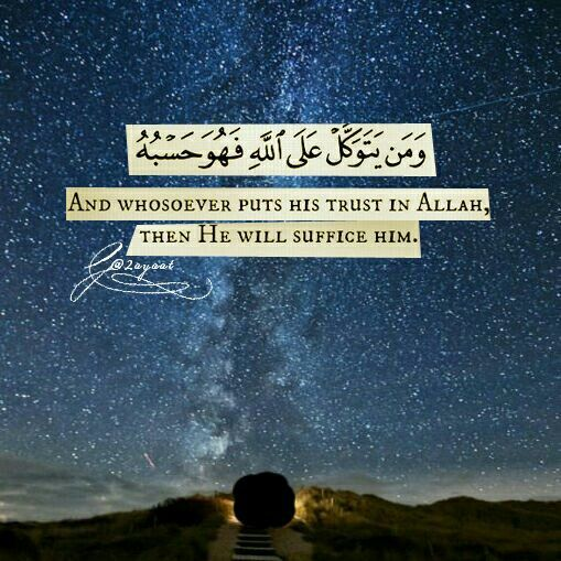 Image result for trust allah and he will
