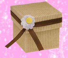 Cajas regalos carton corrugado originales navidad - Cajas de carton decoradas para regalos ...