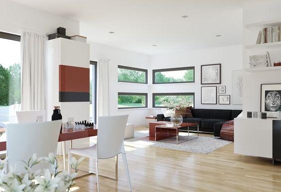 419 best Inneneinrichtung images on Pinterest House, Glass and - wohnzimmer mit offener küche gestalten