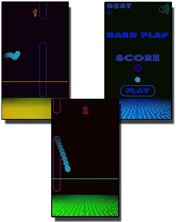 Hard FLap - HTML5 Mobile Game - 1