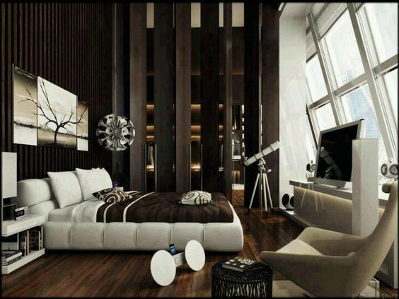 Luxury bedroom design chocolate brown and bedroom designs for Chocolate brown bedroom designs