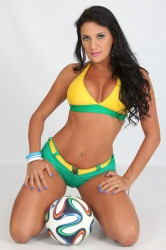 Jeane Rinaldi | Musa das Torcidas da Copa do MundoMusa das Torcidas da Copa do Mundo