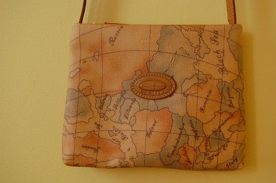 I loved my map purse